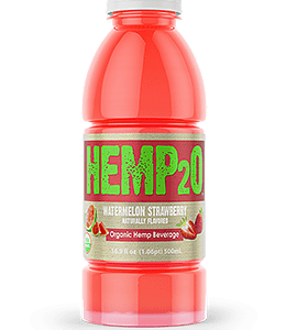 Hemp2o watermelon strawberry cbd drink