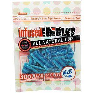 Infused Edibles CBD Gummy Belts