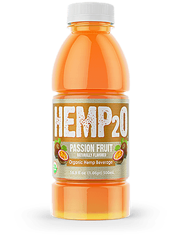 Hemp2o Passion Fruit cbd drink greenrepublic life