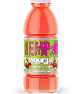 Hemp2o Raspberry Lime