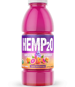 Hemp2o Sunset Sherbert
