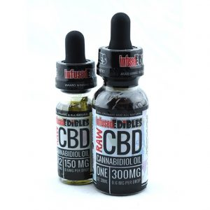 Infused Edibles Raw CBD Oil