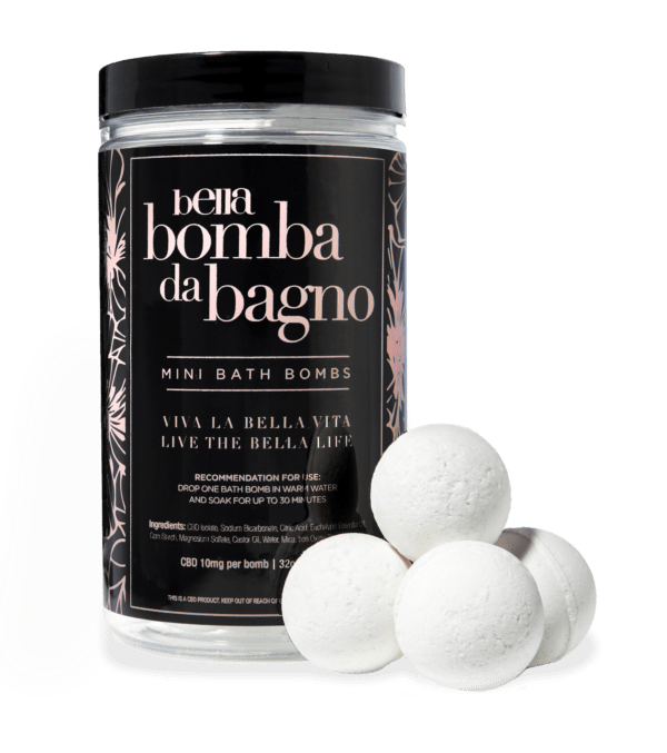 Bella CBD Bath Bombs