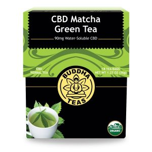 CBD matcha green tea