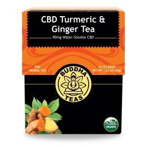CBD Tumeric & Ginger Tea