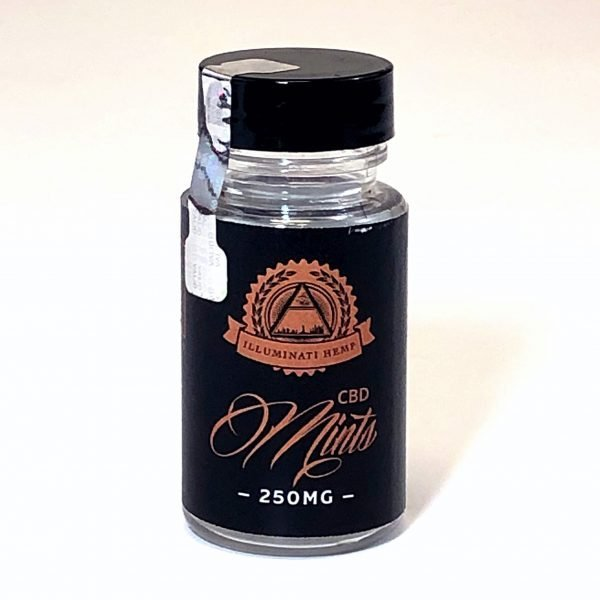 illuminati CBD mints 250 mg