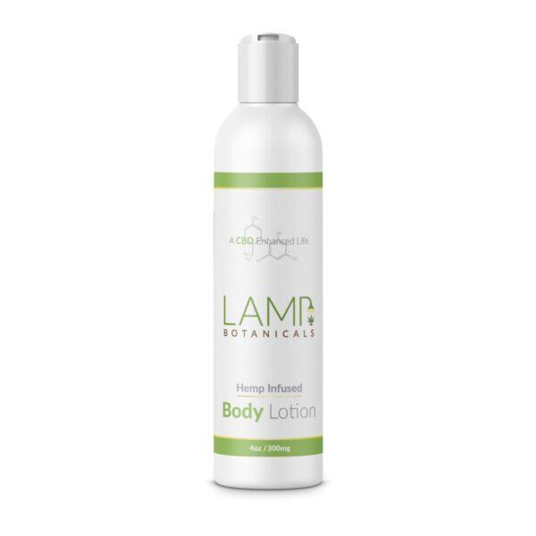 lamp 300 mg CBD lotion