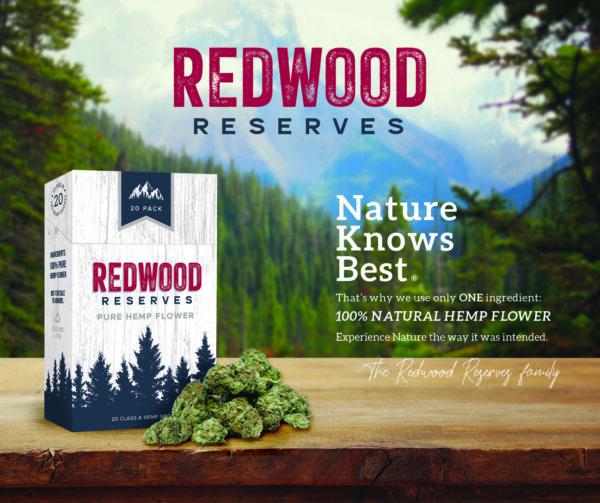 Redwood Reserve hemp smokes