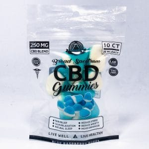 Illuminati BROAD SPECTRUM CBD GUMMIES