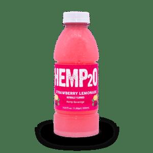 Hemp2o Strawberry Lemonade Green republic life