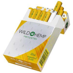 Wild Hemp Pineapple Blaze cbd cigarettes
