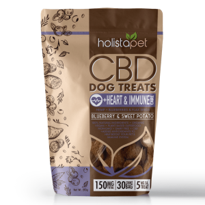 holistapet cbd dog treats heart immunity