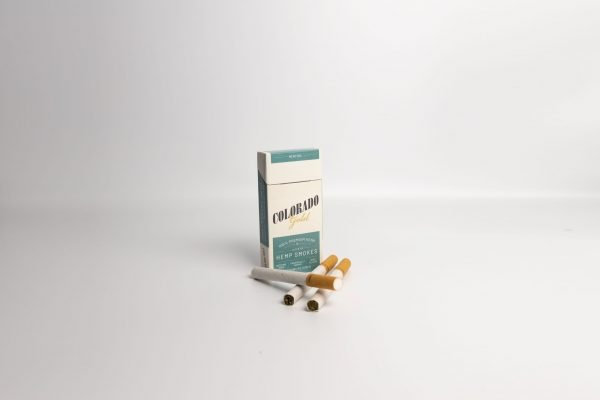 Colorado gold Hemp Cigarettes Menthol Pack