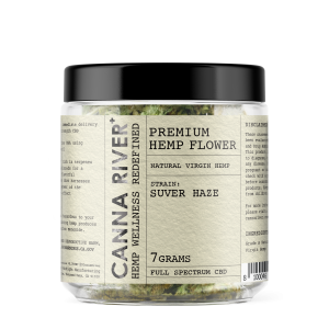 Canna River Hemp Jar-suver haze