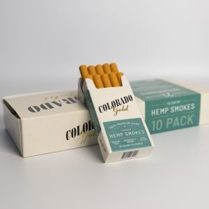 Colorado Gold Hemp Cigarettes Menthol Carton