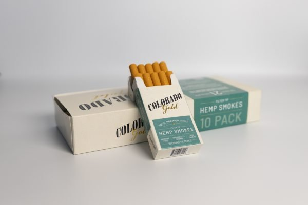 Colorado Gold Hemp Cigarettes Menthol Carton