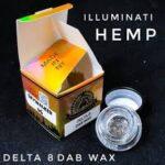 illuminati delta 8 wax dab