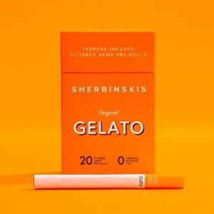 Sherbinskis Gelato Hemp cigs green republic life